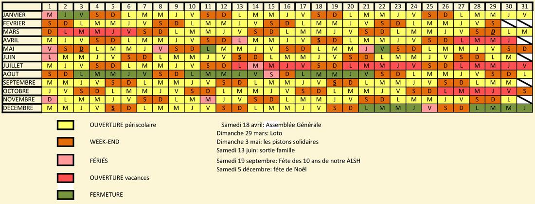 Calendrier-ALSH
